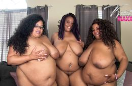 Triple BBW Body Worship – Feb. 21, 2019